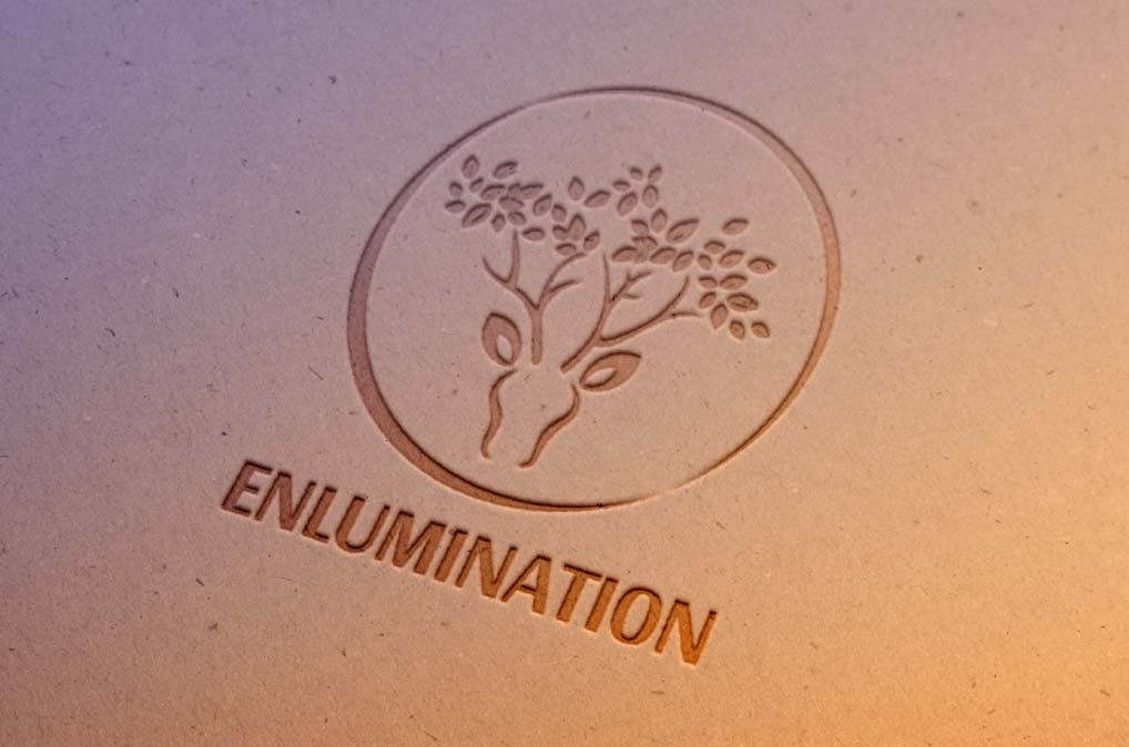 Graphic design - logo enlumination