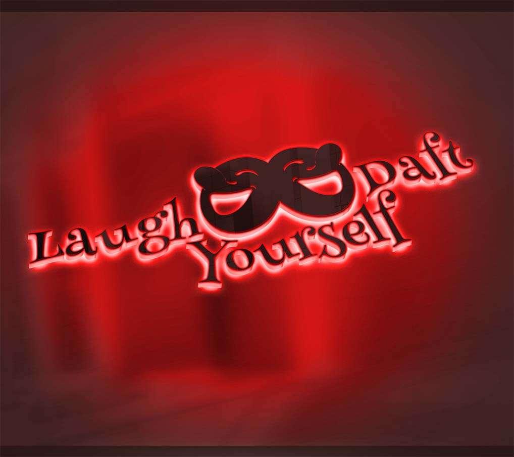 Logo-laugh yourself daft